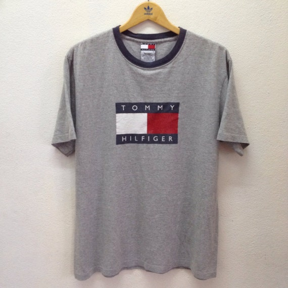 tommy hilfiger grey t shirt. Black Bedroom Furniture Sets. Home Design Ideas