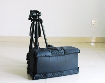 Sale SALE SALE 25% - Insert Only - DSLR Bag / Messenger Camera Insert  / Camera Bag / Dslr Bag / Digital Camera bag, Mirrorless Case/ Gift