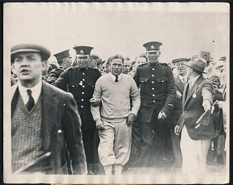 Type 1; 1930 Original Photo BOBBY JONES Golf Great. Grand Slam Winner