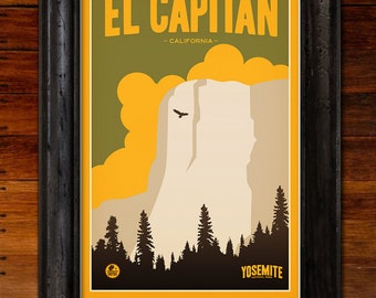 Yosemite National Park: El Capitan Poster