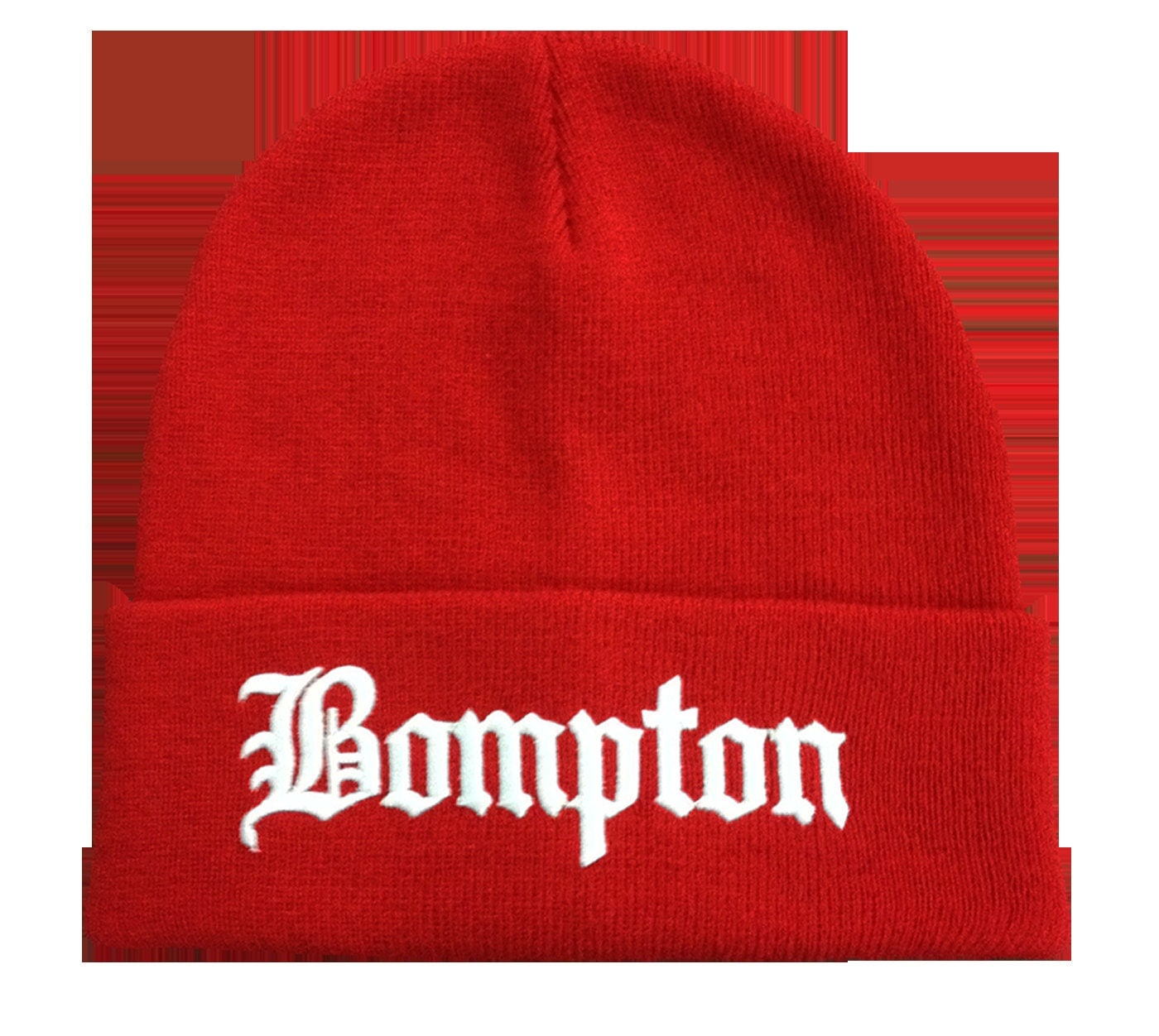 Bompton Hat: Red Bompton Beanie