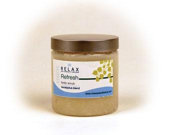 Eucalyptus Blend Body Scrub 8 oz.