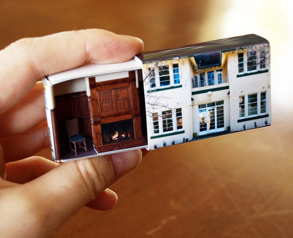Matchbox building matchbox miniature of old canberra house for Blank matchboxes for crafts