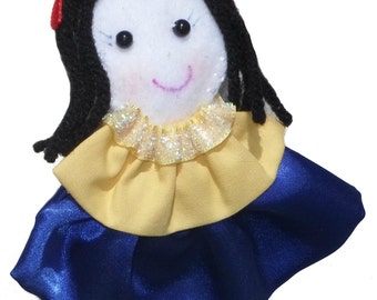 Princess Headband Girls Headband - Snow White Inspired