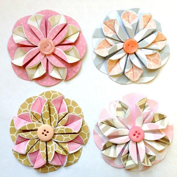 Flat origami flower new blog flat origami flower mightylinksfo