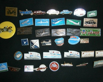 Badges of the USSR  of the USSR car  planes of the usssr  ships of the ussr