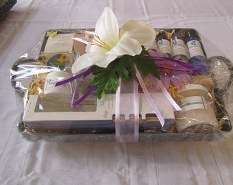 Zen Spa Retreat Gift Basket