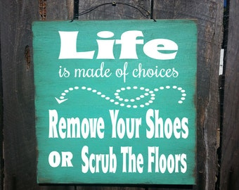please remove your shoes sign, Please take off Your Shoes Sign, no shoes sign, no shoes, no shoes in house sign, remove shoes, 6