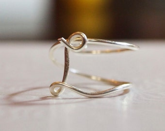 "initial ""L"" wire wrapped ring"
