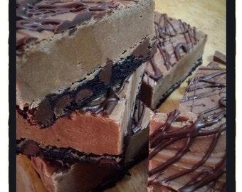 ARTISANAL FUDGE - Triple Chocolate - 1/2 Lb. Triple Chocolate Fudge - Homemade Fudge - Candy -
