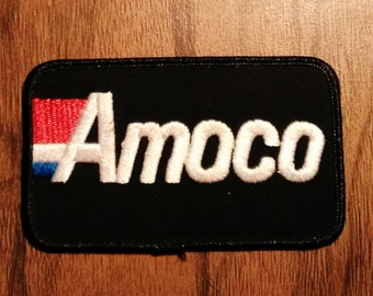Vintage Amoco Embroidered Patch
