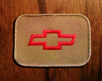 Vintage Chevy Embroidered Patch