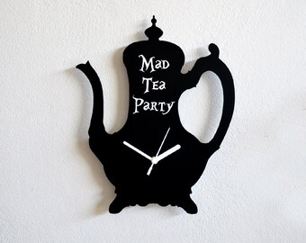 Alice in Wonderland Mad Tea Party - Wall Clock