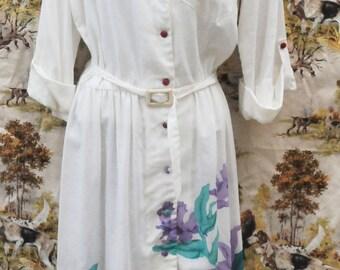 Very pretty Light Cotton Floral Dress