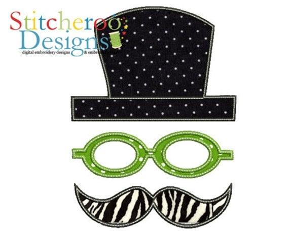 mr neon applique design in hoop sizes 4x4 5x7 9x9 instant. Black Bedroom Furniture Sets. Home Design Ideas