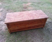Heavenly  old cedar chest , toy box, wedding gift, hope chest.