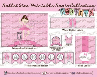 Ballet Party Printable Collection BASIC