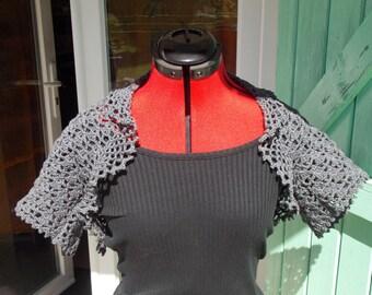 short Bolero made crochet
