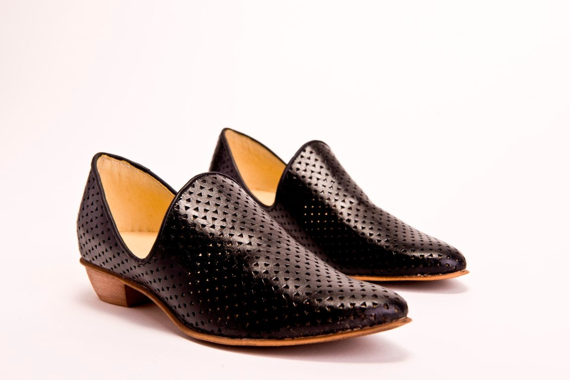 flat black leather shoes shoes by