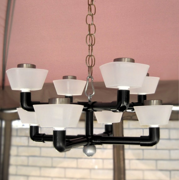 Items similar to Outdoor lighting, solar chandelier. Small ...