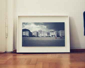 fine art print: landscape photography. Rio de Janeiro, copacabana