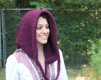 Woodland Cloak Hood Wool Hobbit LotR