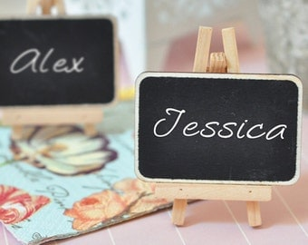 Chalkboard Place Cards - buffet labeling - 25pk