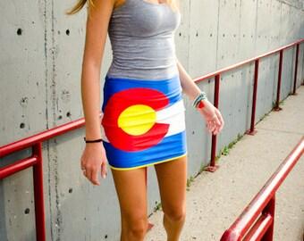 Colorado Flag Skirt - Colorado Apparel
