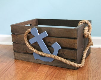 Nautical Storage Crate