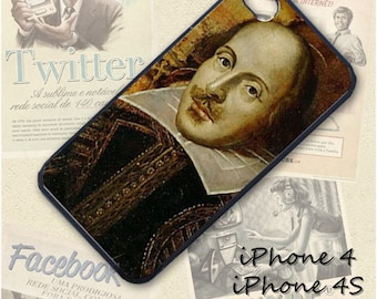 William Shakespeare  cell phone Case / Cover for iPhone 4, 5, Samsung S3, HTC One X, Blackberry 9900, iPod touch 4 / 496