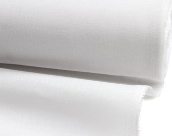 "White Hymo Canvas, Medium Heavy Weight ""TC-110"", 44"" Wide"