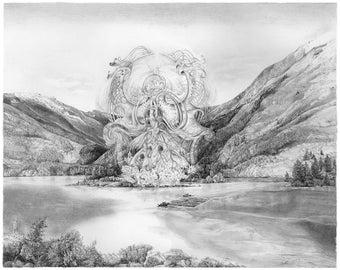 Harri Aalto - B.C. River - Fine Art Print