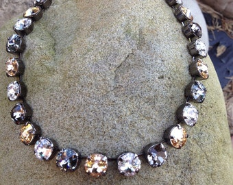 Stunning 11mm swarovski necklace