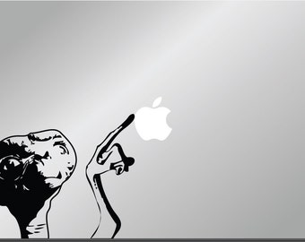 ET vinyl decal sticker Apple MacBook Pro Air iPad iPhone Commercial Phone Home