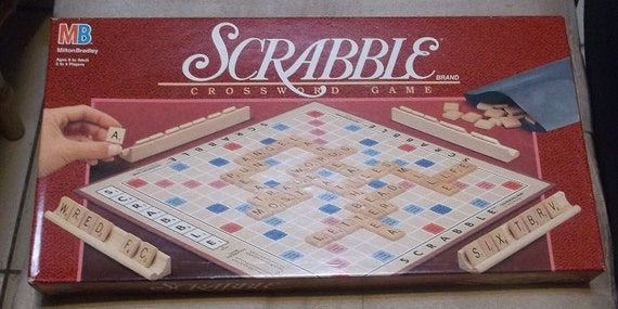 New Vintage Scrabble Game by