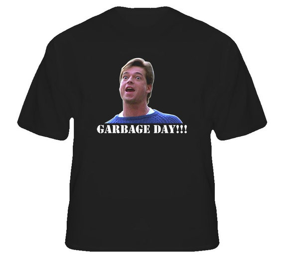 Garbage day silent night horror movie funny t shirt for Attack of the 50 foot woman t shirt