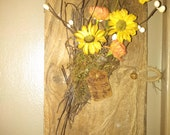 Primitive Floral Arrangement