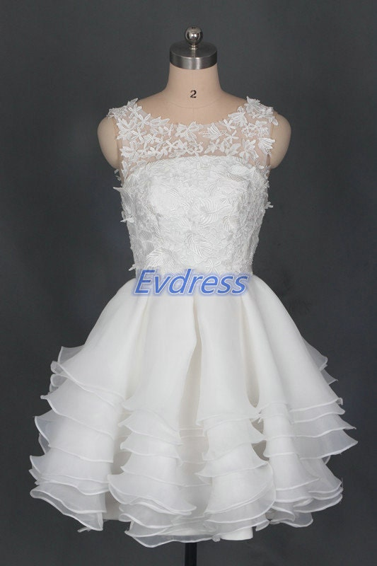 Short ivory tulle homecoming dress,cheap bridesmaid dresses under 150,cute women gowns for party.