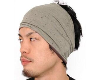 Japanese Fashion Headband Neck Warmer Hairband Men Women Sports Hair Styling Accessory Wide th-njt