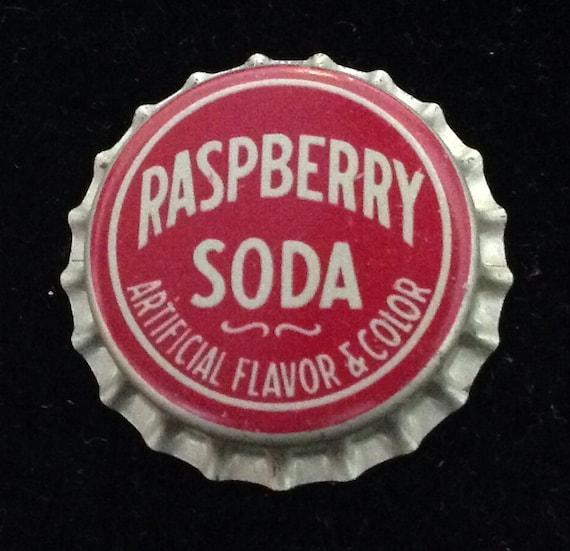 Raspberry soda bottle cap cork sale by txsodajerks on etsy for Soda caps for sale