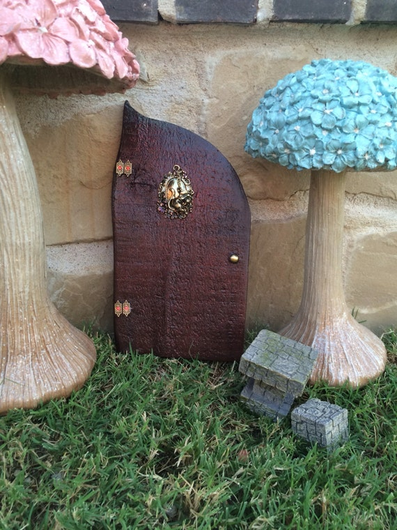 Woodland creature fairy door tinkerbell peter pan disney for Tinkerbell fairy door