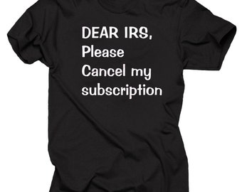 Funny IRS Internal Revenue Service T-shirt Accounting major T-shirt Accountant CPA tee