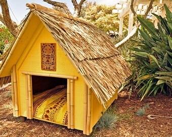 Designer Dog Houses, Pet house, Cats, Turtles, Dogs, Pet Meditation lodge, Garden Art, Indo House