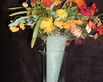 These cone flowers can be used in your vase or in a cemetary urn