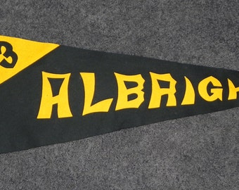 1923 dated Albright College Pennant