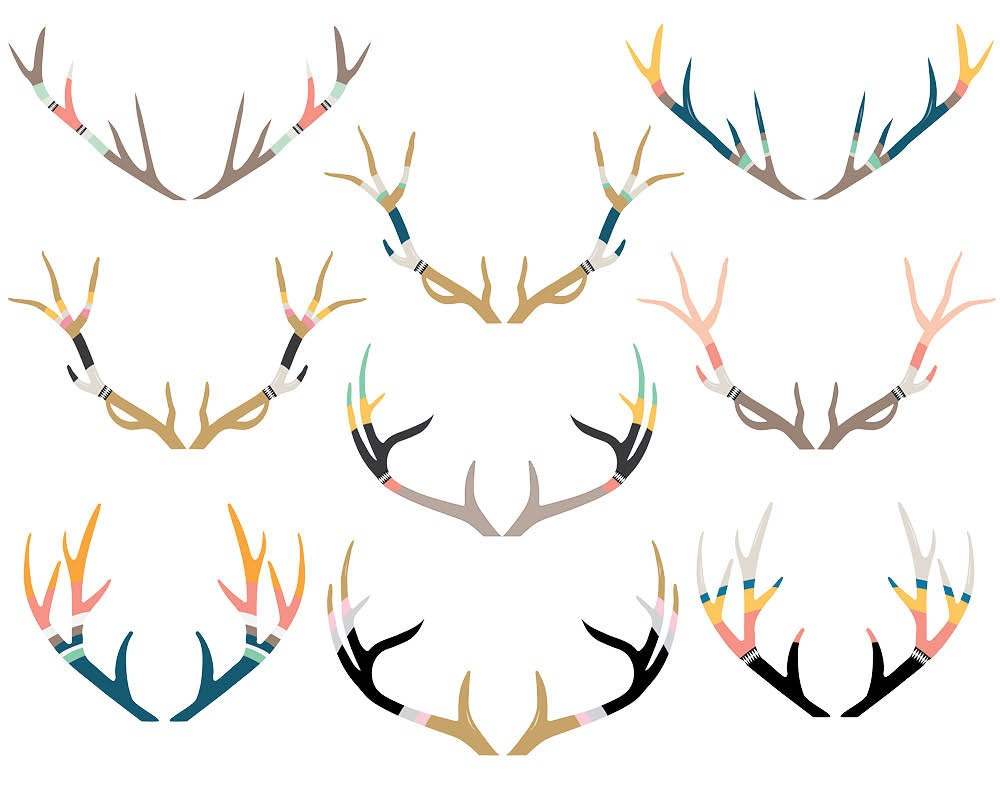 Deer antlers clipart - photo#39