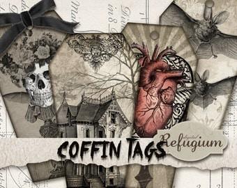 coffin-tag digital download sheet