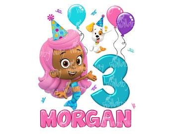 Bubble Guppies Molly Birthday Clip Art