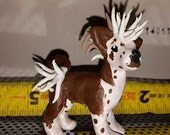 Chinese Crested sculpture