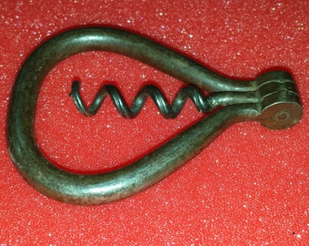 Antique 1930's bow handle corkscrew